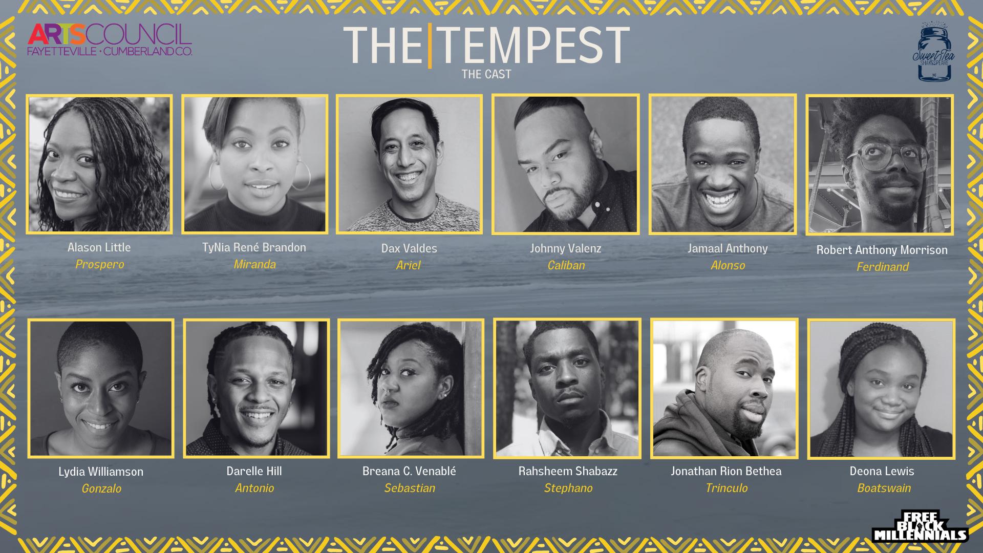 The Tempest Cast